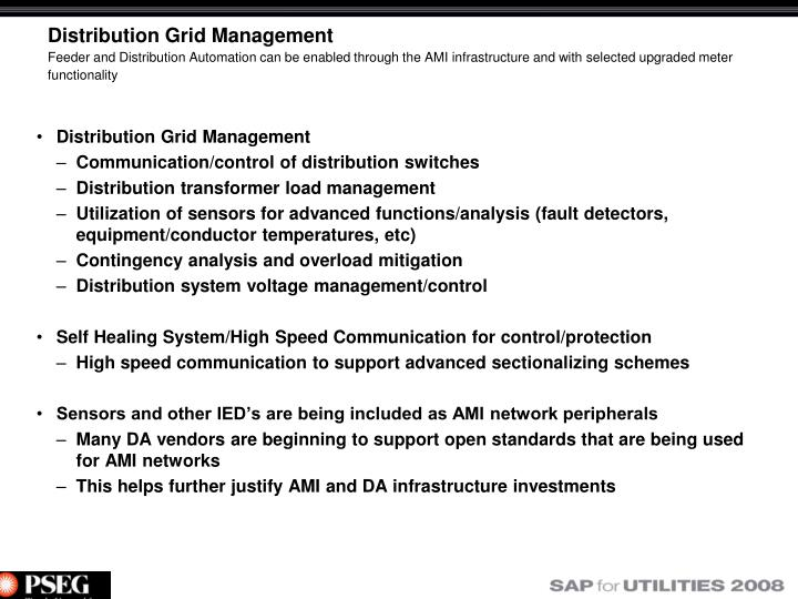 Distribution Grid Management