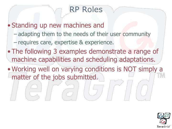 RP Roles