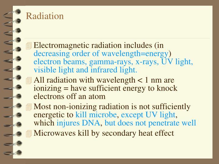 ionizing radiation thesis