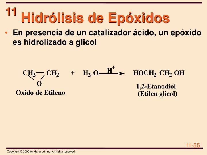 Hidrólisis de Epóxidos
