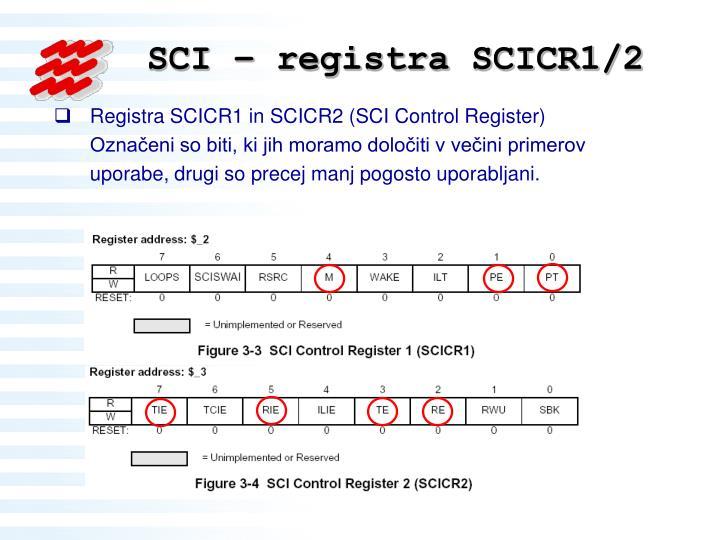 SCI – registra SCICR1/2