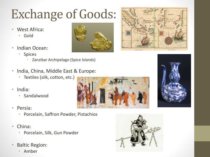 Exchange of Goods: