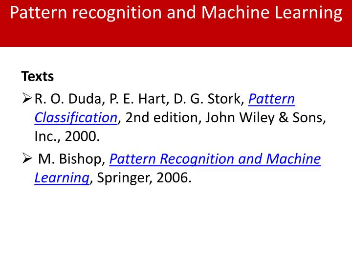 Pattern recognition and machine learning1
