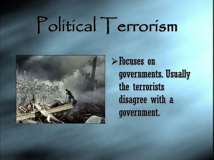 Political Terrorism