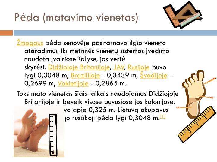 Pėda (matavimo vienetas)