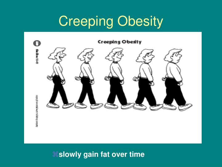 Creeping Obesity