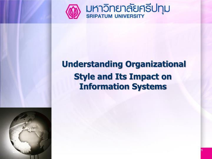 Understanding Organizational