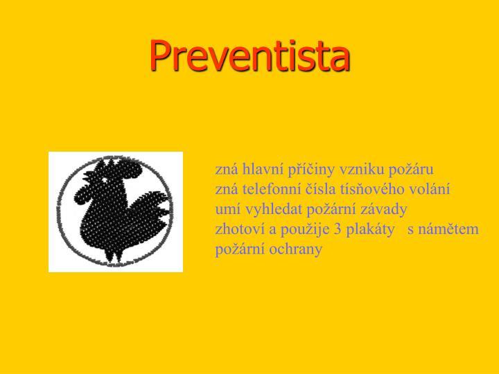 Preventista