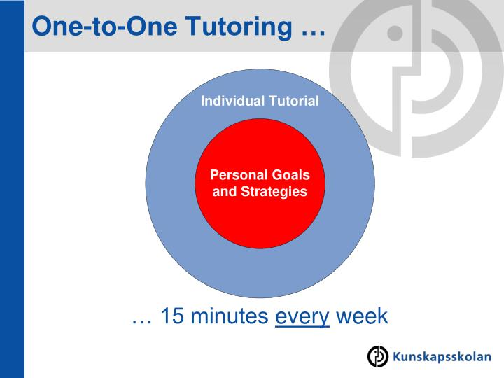 One-to-One Tutoring …