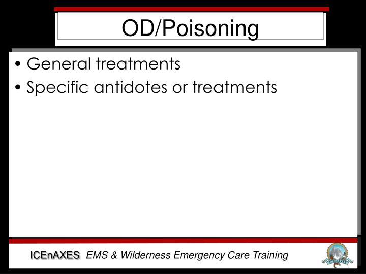 OD/Poisoning