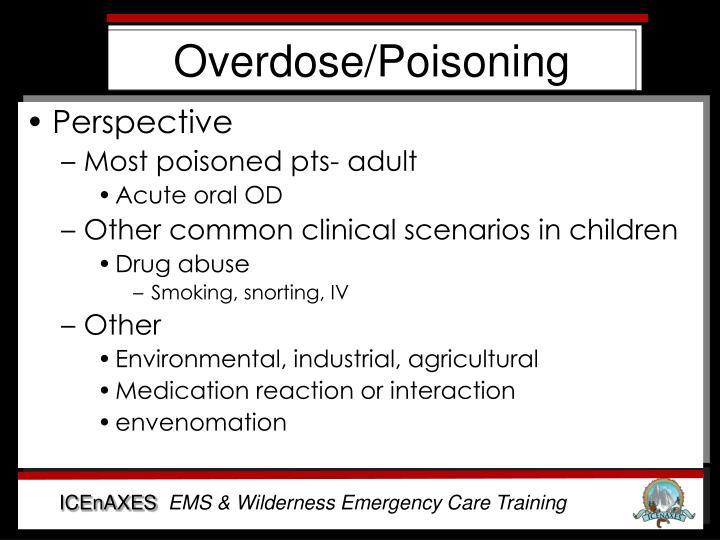 Overdose/Poisoning