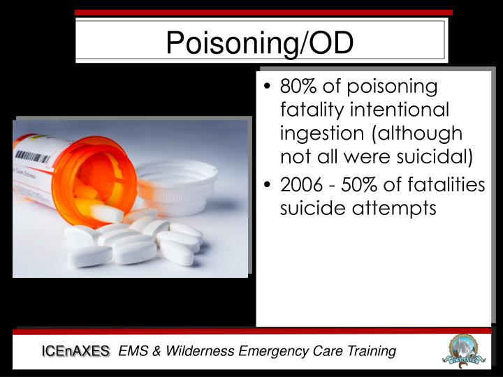 Poisoning/OD