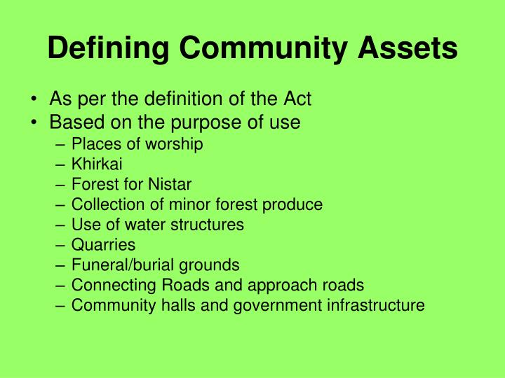 defining community Defining community development what qualifies and a case study for practical application.