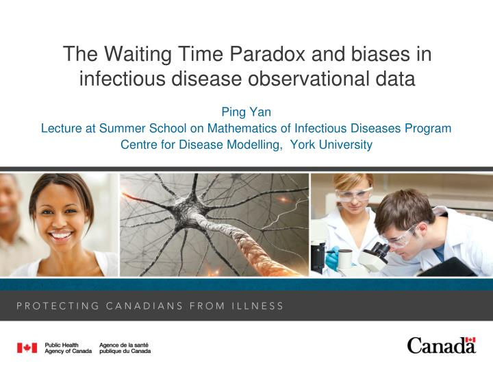 The waiting time paradox and biases in infectious disease observational data