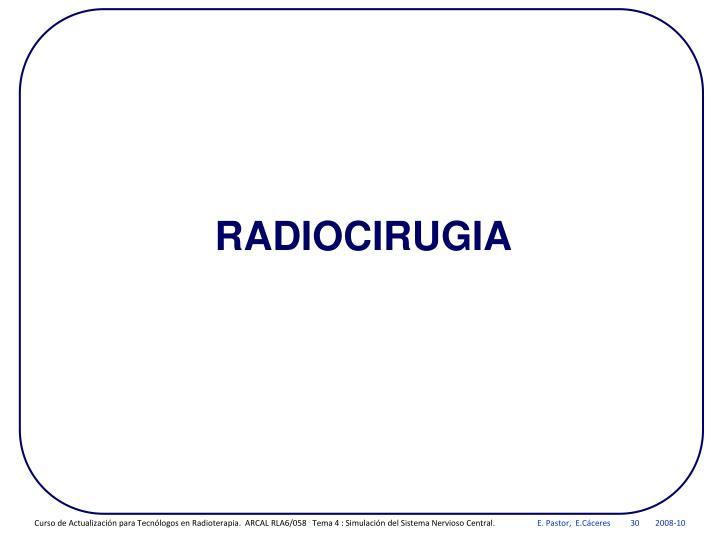 RADIOCIRUGIA
