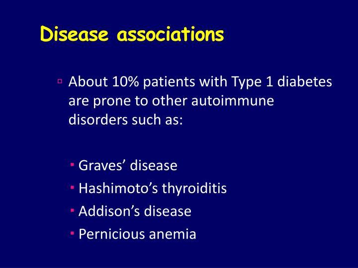 Disease associations