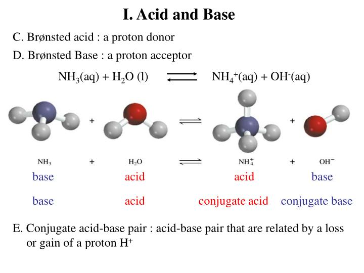 I acid and base1