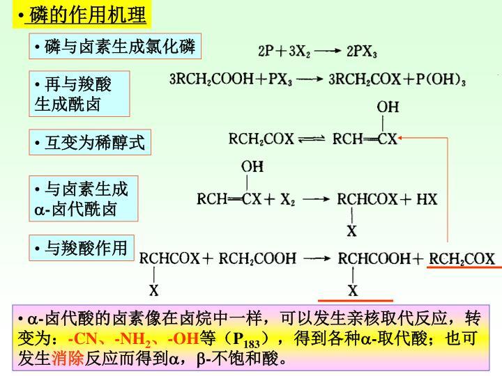 磷的作用机理
