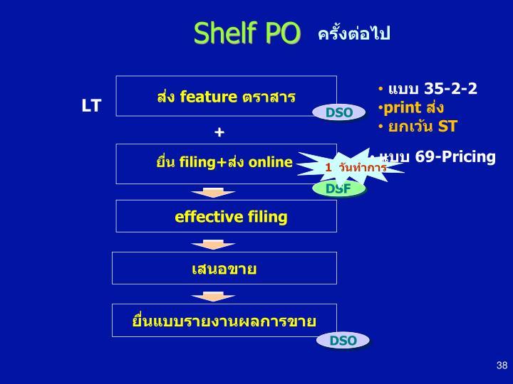 Shelf PO