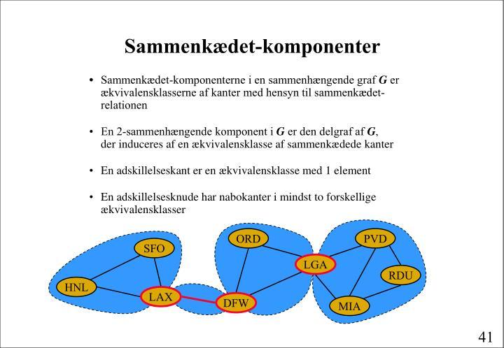 Sammenkædet-komponenter