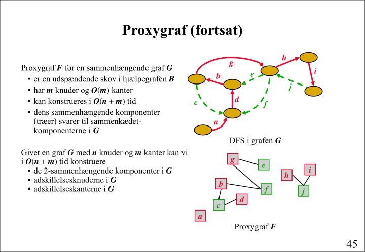 Proxygraf (fortsat)
