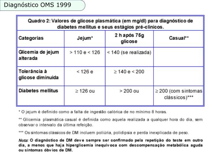 Diagnóstico OMS 1999