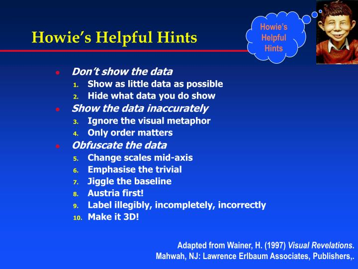 presentation helpful hints Some helpful hints on preparing and presenting scientific data this is part of a series of tutorials designed to help research scientists in the use of.