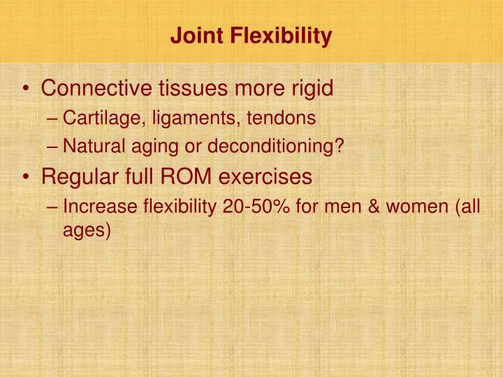 Joint Flexibility