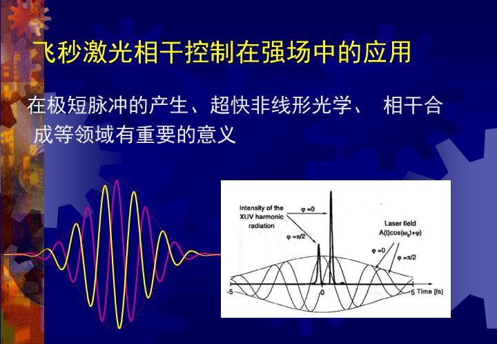 飞秒激光相干控制在强场中的应用