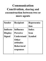 communication coactivation sharing and coconstruction between two or more agents
