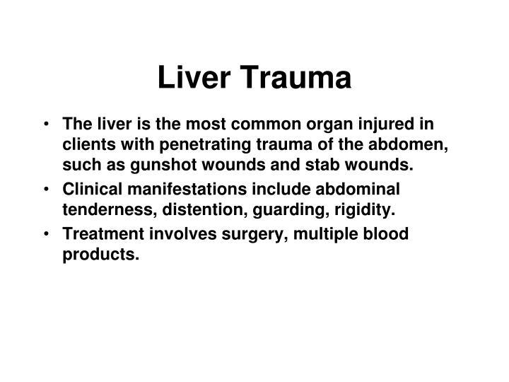 Liver Trauma