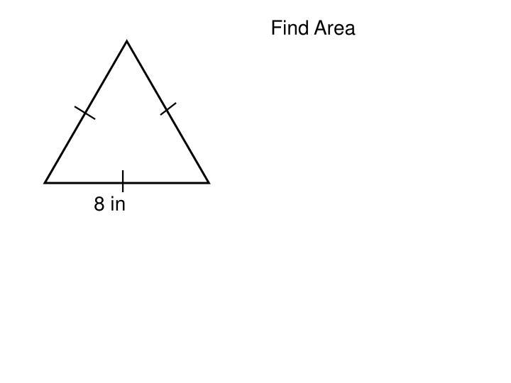 Find Area
