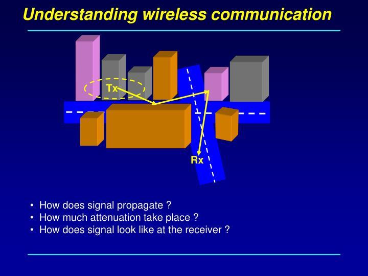Understanding wireless communication