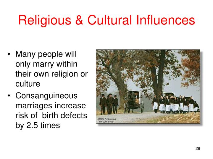 Religious & Cultural Influences