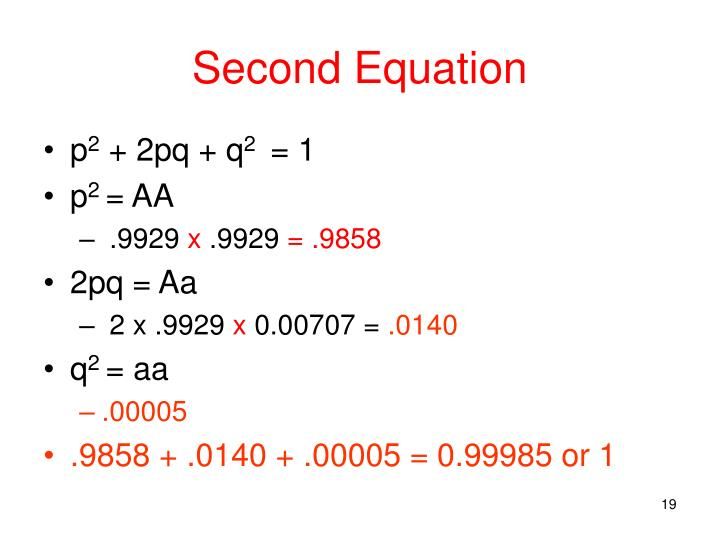 Second Equation