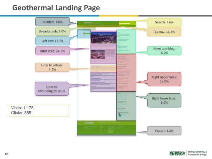 Geothermal Landing Page