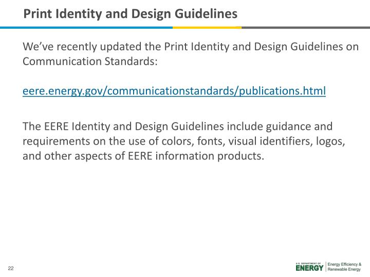 Print Identity and Design Guidelines