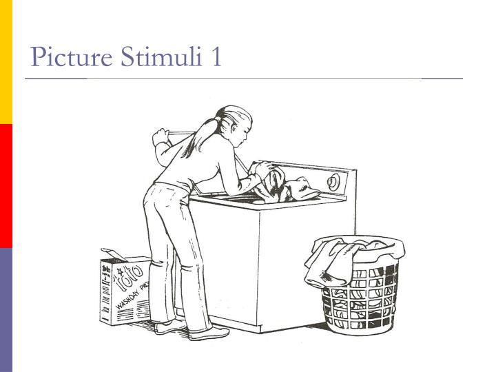 Picture Stimuli 1