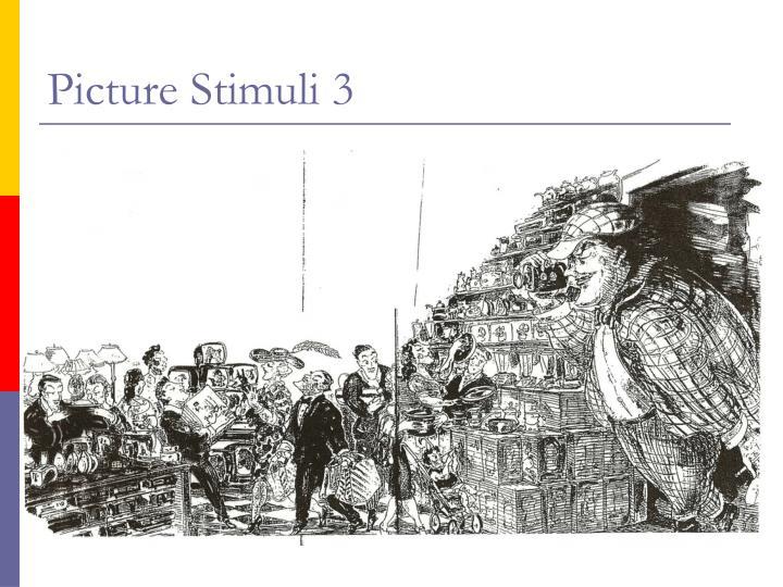 Picture Stimuli 3