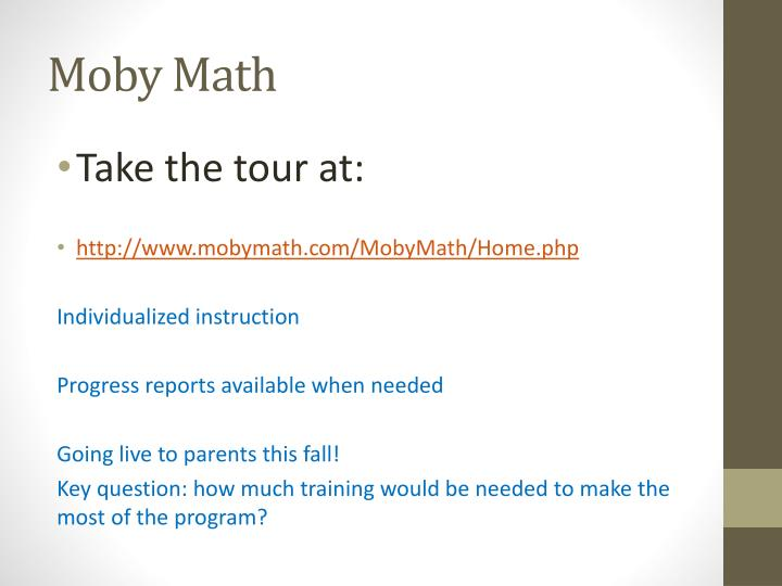 Moby Math