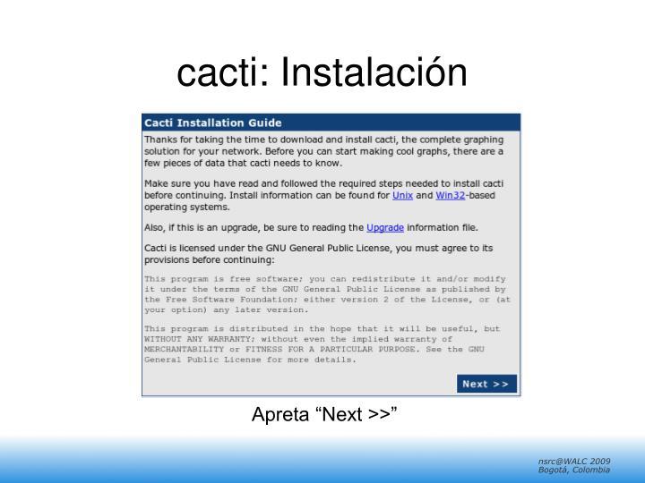 cacti: