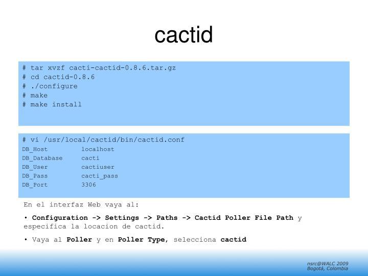 cactid