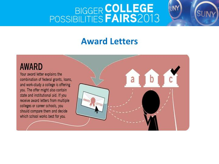 Award Letters