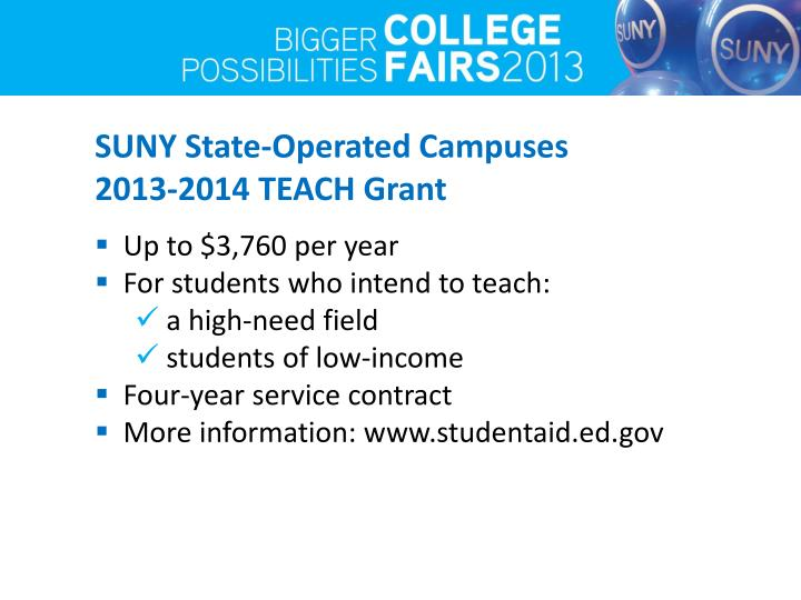 SUNY State-Operated Campuses