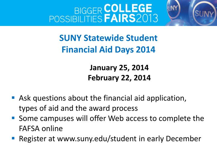 SUNY Statewide Student