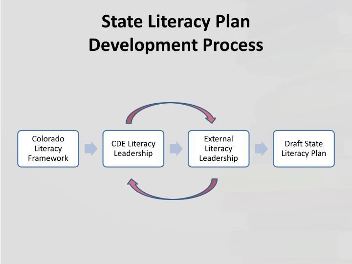 State Literacy Plan