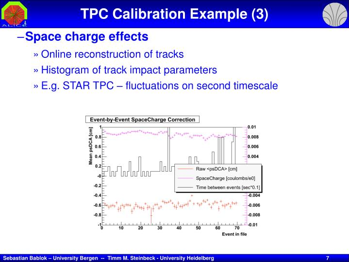 TPC Calibration Example (3)