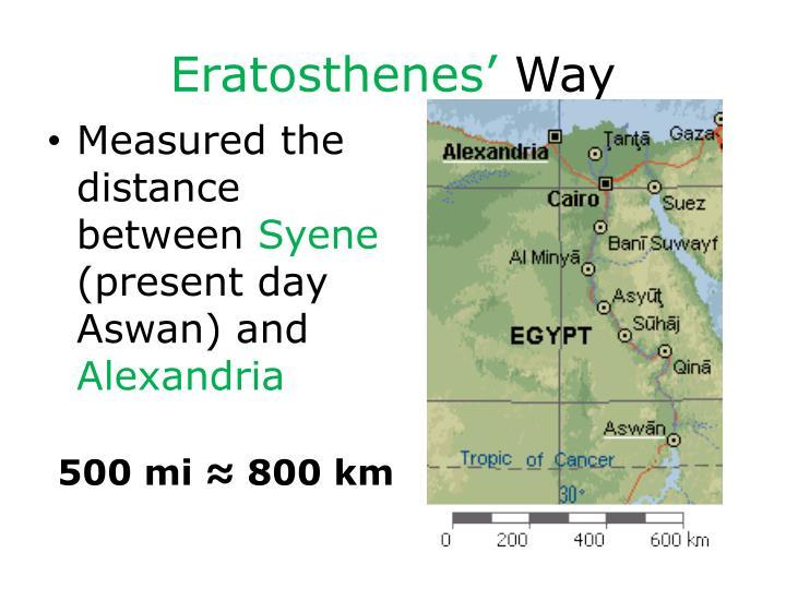 Eratosthenes'