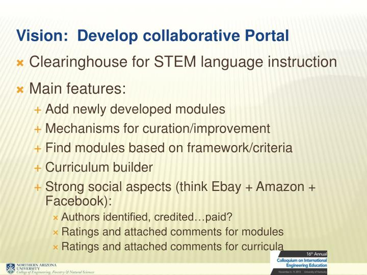 Clearinghouse for STEM language instruction