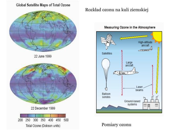 Rozkad ozonu na kuli ziemskiej